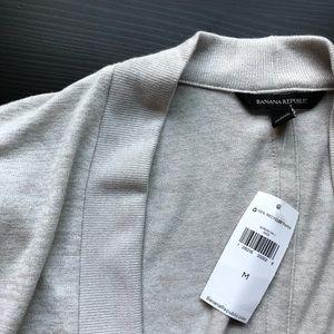 BANANA REPUBLIC:  Luxespun Cropped Cardigan